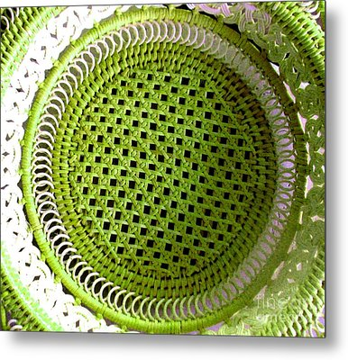 Russian Basket Metal Print by Amy Sorrell