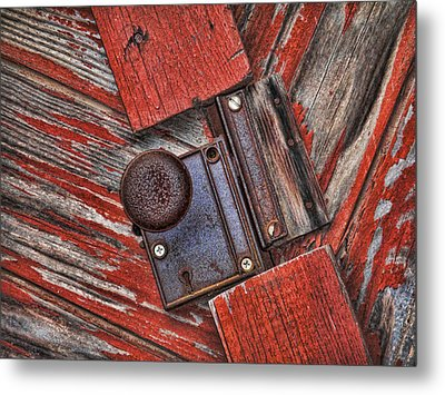 Rusty Dusty And Musty Metal Print by Kathy Clark