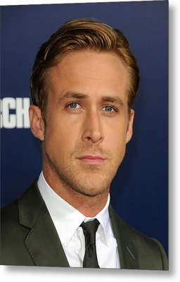 Ryan Gosling At Arrivals For The Ides Metal Print by Everett