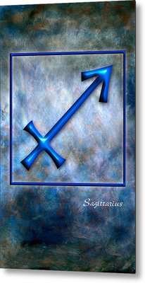 Sagittarius  Metal Print by Mauro Celotti