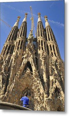 Sagrada Familia Barcelona Spain Metal Print by Matthias Hauser