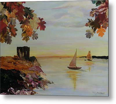Sail Away Metal Print by Terry Honstead