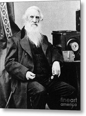 Samuel Morse, American Inventor Metal Print by Science Source