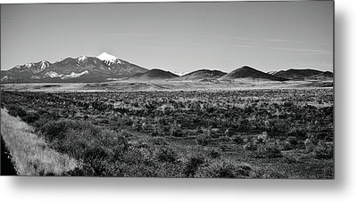 San Francisco Peaks Metal Print by Gilbert Artiaga