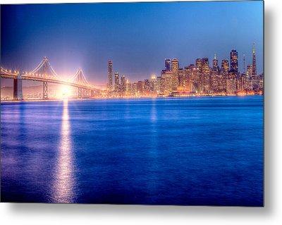 San Francisco Skyline Metal Print by Ariane Moshayedi