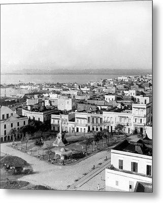 San Juan - Puerto Rico - C 1900 Metal Print by International  Images