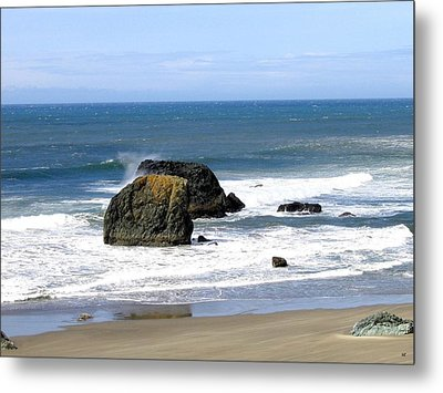 Sand And Sea 19 Metal Print by Will Borden