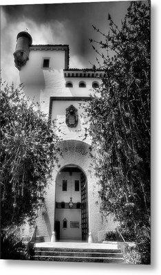Santa Barbara Courthouse I Metal Print by Steven Ainsworth