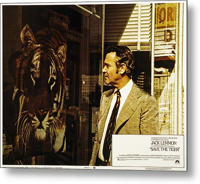 Save The Tiger, Jack Lemmon, 1973 Metal Print by Everett