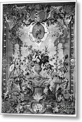 Savonnerie Panel C1800 Metal Print by Granger