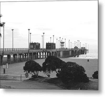 Scenes Of Los Angeles, Huntington Beach Metal Print by Everett
