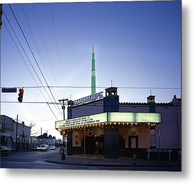 Scenes Of Texas, The Guadalupe Cultural Metal Print by Everett