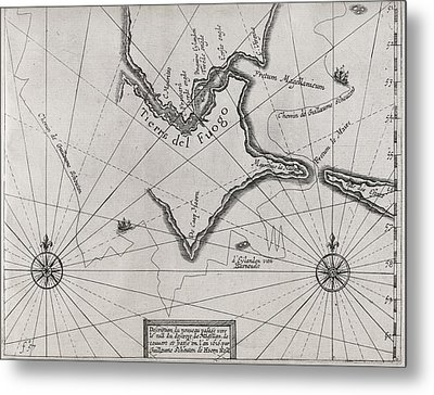 Schouten Rounding Cape Horn, 1616 Metal Print by Middle Temple Library