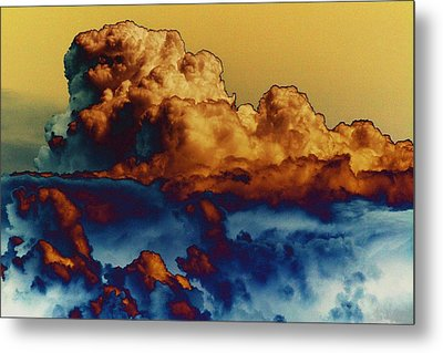 Sea And Sky Metal Print by One Rude Dawg Orcutt