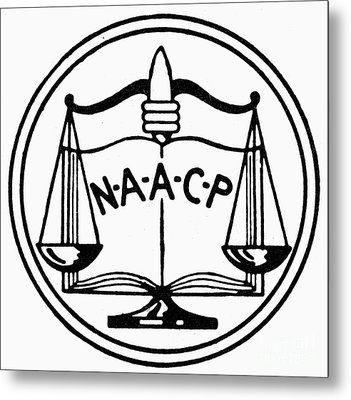 Seal: Naacp Metal Print by Granger