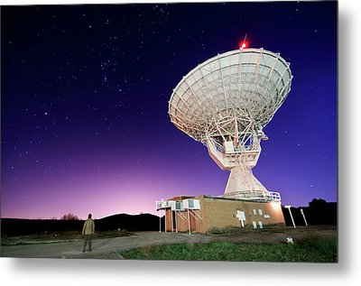 Search For Extraterrestials Metal Print by Photo by cuellar