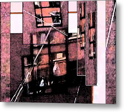 See Through Metal Print by Gretchen Wrede