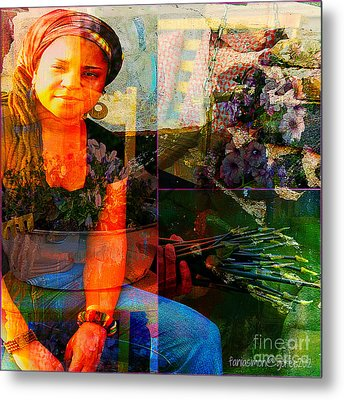 Self - Growing Inside Out Metal Print by Fania Simon