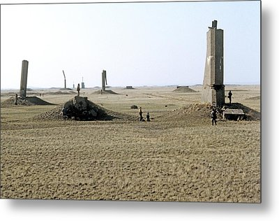 Semipalatinsk Nuclear Test Site Metal Print by Ria Novosti