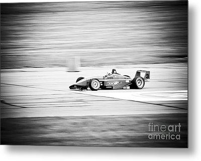 Sepia Racing Metal Print by Darcy Michaelchuk