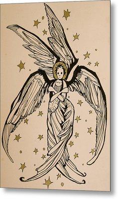Seraphim Metal Print by Jackie Rock