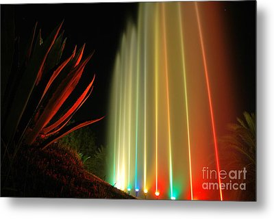 Serenade For Rainbow Metal Print by Erhan OZBIYIK
