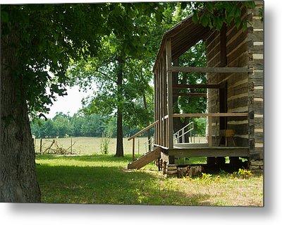 Settlers Cabin Arkansas 4 Metal Print by Douglas Barnett