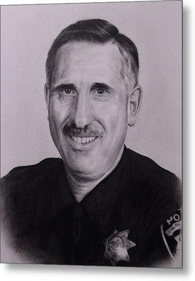 Sgt. Weaver Metal Print by Patrick Entenmann