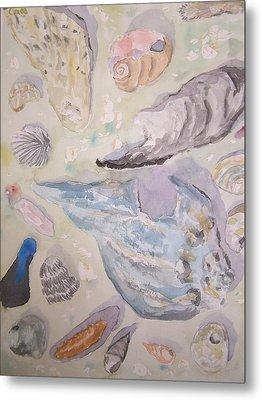Shells Metal Print by James Cox