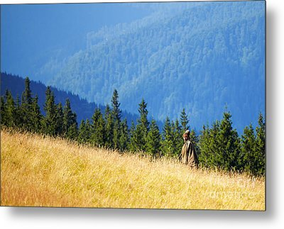 Shepherd Metal Print by Gabriela Insuratelu