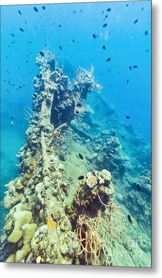 Shipwreck  Metal Print by MotHaiBaPhoto Prints