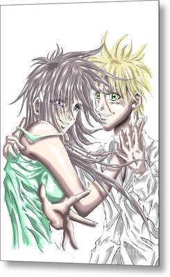Shojo Style Metal Print by Tuan HollaBack
