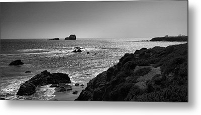 Shoreline Near Piedras Blancas I Metal Print by Steven Ainsworth