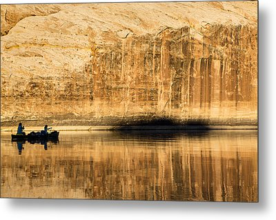 Silhouttes And Reflections Metal Print by Tim Grams
