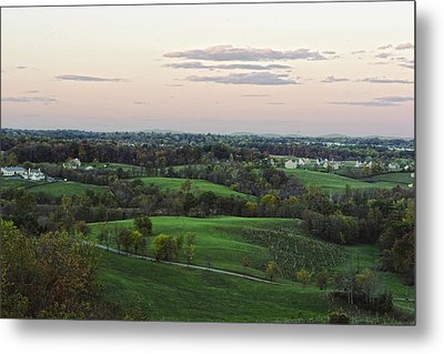 Silo View Metal Print by Dave Levinson
