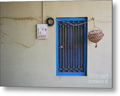 Simple Metal Print by Jen Bodendorfer