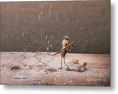 Simple Things - Christmas 04 Metal Print by Nailia Schwarz