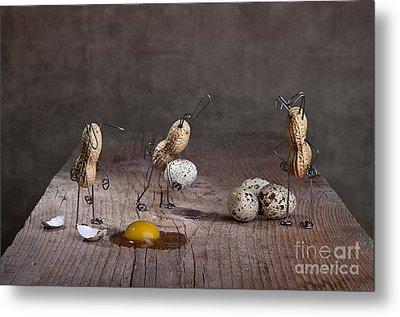 Simple Things Easter 06 Metal Print by Nailia Schwarz