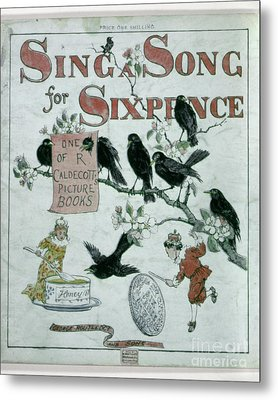 Sing A Song Of Sixpence Metal Print by Granger