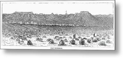 Sioux War: Fort Fetterman Metal Print by Granger