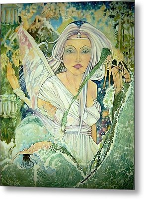 Sister Angel Metal Print by Jackie Rock