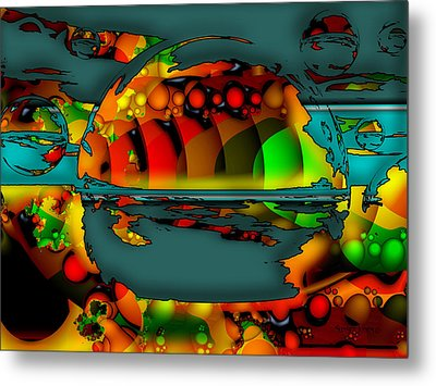 Sixty Eight Metal Print by Robert Orinski