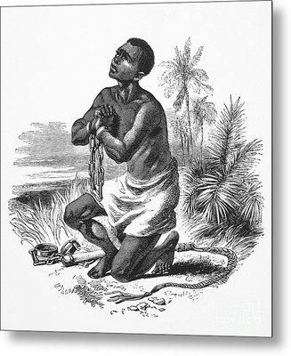 Slavery: Abolition Metal Print by Granger