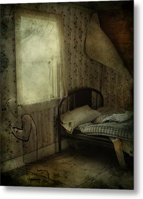Sleepless Prayers  Metal Print by JC Photography and Art