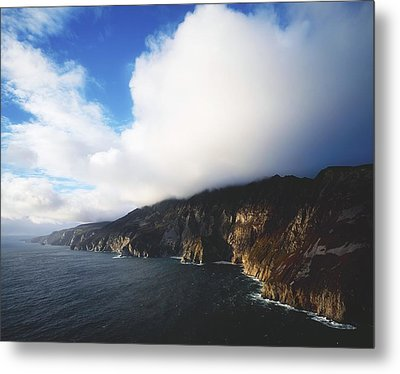 Slieve League, County Donegal, Ireland Metal Print by The Irish Image Collection