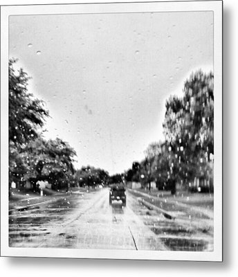 Slight Drizzle In Early Summer Metal Print by Kel Hill