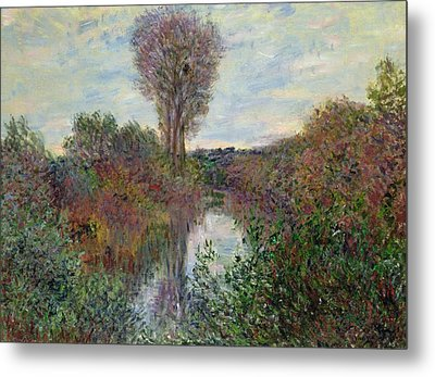 Small Branch Of The Seine Metal Print by Claude Monet
