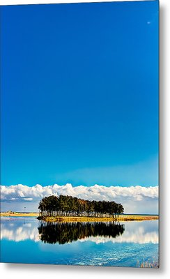 Small Island Metal Print by Tokism