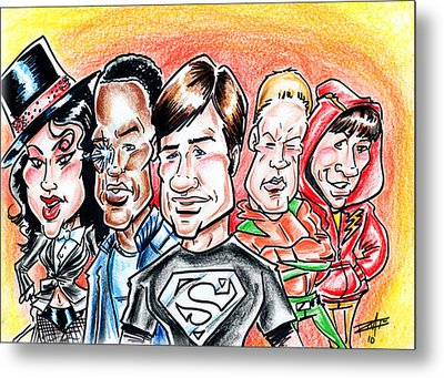 Smallville Metal Print by Big Mike Roate