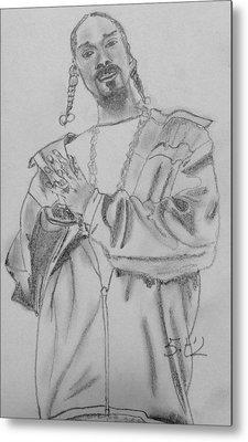 Snoop Dogg Metal Print by Estelle BRETON-MAYA